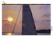 Sailing Home Sunset In Key West Carry-all Pouch