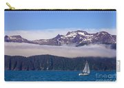 Sailing In Alaska Carry-all Pouch
