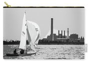 Sailing In Black And White Carry-all Pouch