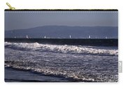 Sailing In Santa Monica Carry-all Pouch