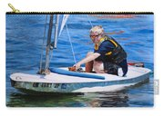 Sailing On Lake Thunderbird Carry-all Pouch