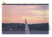 Sailing On Puget Sound At Sunset Carry-all Pouch