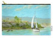 Sailing Out To Sea Carry-all Pouch