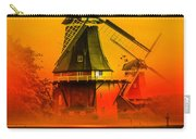 Sailing Romance Windmills Carry-all Pouch