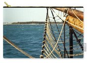 Sailing Ship Prow On The Caribbean Carry-all Pouch
