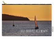 Sailing The English Bay Quote Carry-all Pouch