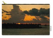 Sailing The Keys At Sunset Carry-all Pouch
