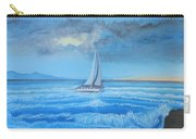Sailing Through The Storm Carry-all Pouch