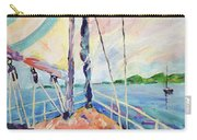 Sailing - Wind In Your Face Carry-all Pouch