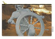 Sailor In Coming Storm Carry-all Pouch