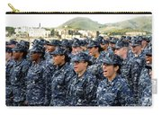 Sailors Yell Before An All-hands Call Carry-all Pouch by Stocktrek Images
