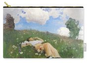 Saimi In The Meadow Carry-all Pouch