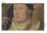 Saint Ambrose With Ambrosius Van Engelen   Carry-all Pouch