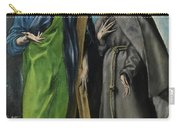 Saint Andrew And Saint Francis Carry-all Pouch
