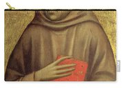 Saint Anthony Abbot Carry-all Pouch by Giotto di Bondone