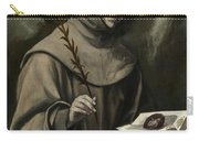 Saint Anthony Of Padua Carry-all Pouch