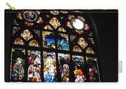 Saint Augustine Stained Glass Carry-all Pouch