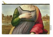 Saint Catherine Of Alexandria Carry-all Pouch by Raphael