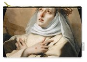 Saint Catherine Of Sienna Carry-all Pouch
