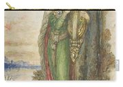 Saint Cecilia, Gustave Moreau Carry-all Pouch