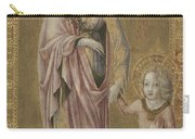 Saint Dorothy And The Infant Christ Carry-all Pouch