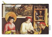 Saint Eligius In His Workshop Carry-all Pouch