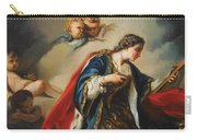 Saint Elisabeth Of Hungary Praying Carry-all Pouch