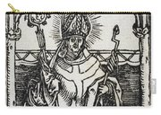 Saint Erasmus Carry-all Pouch