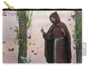 Saint Francis Of Assisi Preaching To The Birds Carry-all Pouch