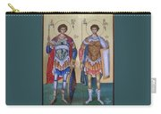 Saint George And Saint Dimitrios Carry-all Pouch