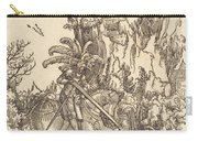 Saint George Slaying The Dragon Carry-all Pouch