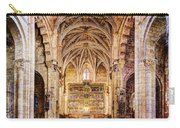 Saint Isidore - Romanesque Temple Altar And Vault - Vintage Version Carry-all Pouch