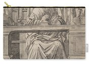 Saint Jerome In His Study Carry-all Pouch