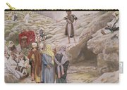 Saint John The Baptist And The Pharisees Carry-all Pouch by Tissot
