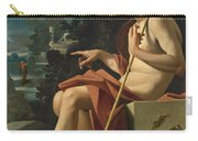 Saint John The Baptist In A Landscape Carry-all Pouch