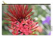 Saint Lucia Flower IIi Carry-all Pouch