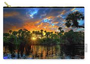 Saint Lucie River Sunset Carry-all Pouch