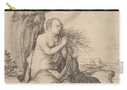 Saint Mary Magdalene In The Desert Carry-all Pouch