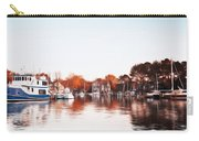Saint Michael's Harbor Carry-all Pouch by Bill Cannon