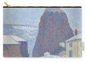Saint Michel D Aiguilhe Haute Loire Under Snow 1890 Carry-all Pouch