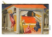 Saint Nicholas Providing Dowries Carry-all Pouch