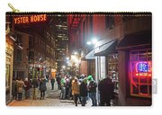 Saint Patrick's Day On Marshall Street Boston Ma Carry-all Pouch