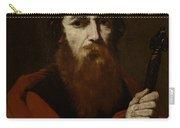 Saint Paul  Carry-all Pouch by Jusepe de Ribera