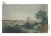 Saint Peter's Seen From The Campagna Carry-all Pouch by George Snr Inness