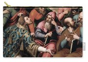 Saint Stephen In The Synagogue Carry-all Pouch