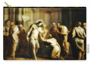 Saint Thomas Touching Christ's Wounds Carry-all Pouch