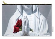 Saint Virgin Mary Statue #1 Carry-all Pouch