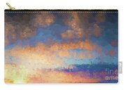 Salamonie Sunset Abstract Carry-all Pouch