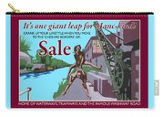 Sale Poster By Eric Jackson, Statement Artwork Carry-all Pouch
