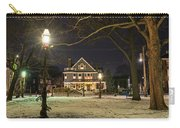 Salem Commons Winter Snow At Christmas Salem Ma Carry-all Pouch